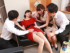 結婚式帰りの三十路女はほとんどヤレる!総集編-【素人】