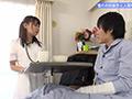 看護師をしている憧れの同級生と入院中にSEX