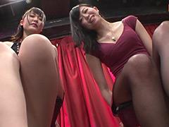 【エロ動画】モデル並みの高身長美女に見下され続ける生放送 完全版のエロ画像