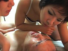 クンニ動画|強烈!!か~っぺっ! 大阪淫乱美女痰唾だらけM男の快感