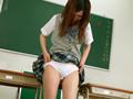 だらしない女子校生の排尿
