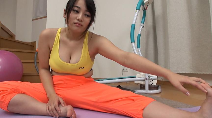 巨乳の清塚那奈の爆乳劇場 Icup!101cm