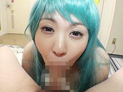 【エロ動画】ババコス!うる★やつらのラ★ちゅわ〜んのコスプレの人妻・熟女エロ画像
