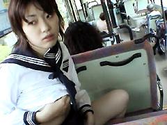 [露出動画]恥悦少女13 緒方さほ-画像1