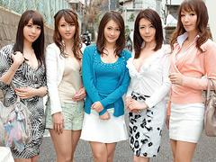 エスカレートしすぎる熟女5人、あなたの自宅に突撃訪問4