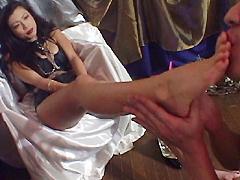 美麗脚踵支配