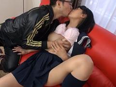 【エロ動画】熟女たちのファーストキスのエロ画像