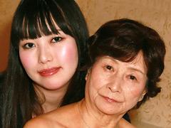 【エロ動画】孫が誘って76歳お婆ちゃんAVデビュー 美月よしののエロ画像