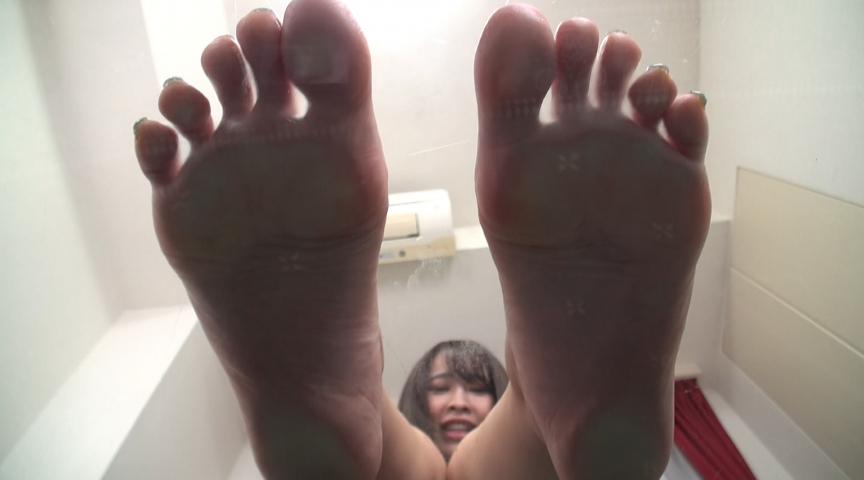 いきなり!足裏舐め&足裏発射