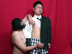 【ガッチビ】シコリーマン vol.2 淫乱部長の性的脅迫 シーン3