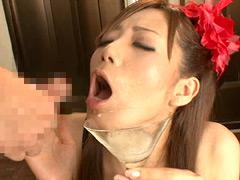 ザーメン乾杯! グラスで飲む精液ゴクゴク総集編