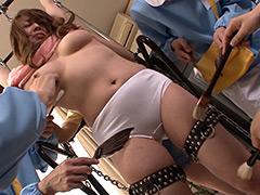 【エロ動画】筆責めのエロ画像