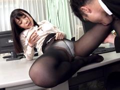 美脚パンティストッキングイズム 03 富田優衣