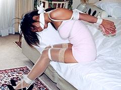 【エロ動画】こだわり衣装でボンデージ4 テニスウェア緊縛講習のSM凌辱エロ画像