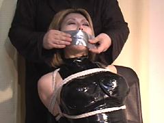 【エロ動画】クロロホルムの虜のSM凌辱エロ画像