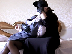 【エロ動画】クロロホルムに酔いしれてのエロ画像
