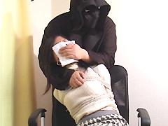 【エロ動画】女の口を塞げ! 〜クロロホルムと猿轡2のエロ画像