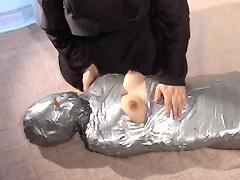 【エロ動画】緊縛と猿轡2 果てしなき拘束のエロ画像