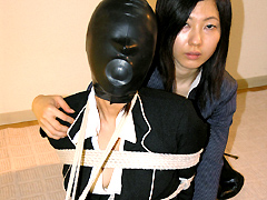 【エロ動画】隷嬢寫眞館写真集 猿轡のこだわり13のエロ画像