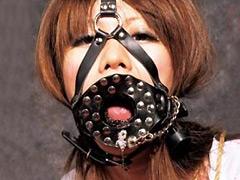 【エロ動画】蜘蛛屋敷 猿轡涎乃地獄のSM凌辱エロ画像