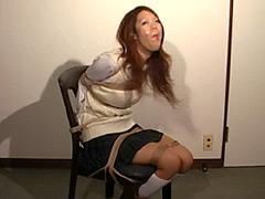 【エロ動画】ギャグマニア 粘着テープ クリアテープ篇のエロ画像