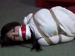 ギャグマニア 謎の贈り物 緊縛多重猿轡 中谷小春