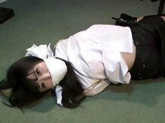 【エロ動画】緊縛美 緊縛されたミストレスのSM凌辱エロ画像
