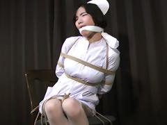 【エロ動画】職場の罠 白衣の天使の悲劇のSM凌辱エロ画像