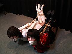 【エロ動画】星乃華/菅原花音 −女スパイ連縛− 全篇のエロ画像