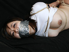 【エロ動画】御池多美子 −ブルマ女誘拐− 全篇のエロ画像