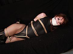 【エロ動画】秋山希 −レオタード諜報部員緊縛監禁− 全篇のエロ画像