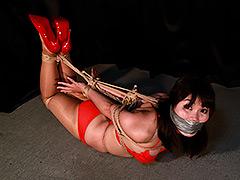 【エロ動画】菅原花音 ‐ビキニ娘緊縛監禁‐ 全篇のエロ画像