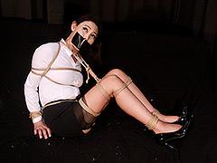 烏丸まどか ‐熟女誘拐緊縛凌辱‐ 全篇-【緊縛】