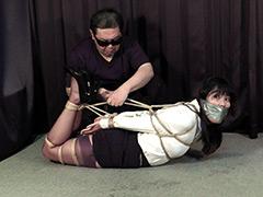 【エロ動画】菅原花音 ‐秘書誘拐緊縛監禁‐ 全篇のエロ画像