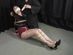 【エロ動画】遠山真央 ‐熟女初めての緊縛猿轡‐ 全篇のエロ画像