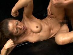 【エロ動画】筋肉美人ボディービルダー 嶋田律子のエロ画像