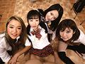 ニーハイ超ミニスカ制服が導入された学校に男は僕1人 石川祐奈,神坂ひなの,千夏南那,優木カリナ