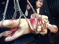 【エロ動画】恥悦洗礼 真性M女 亜美のSM凌辱エロ画像