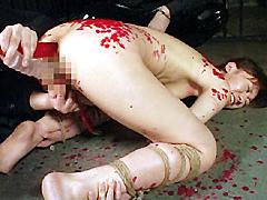 【エロ動画】緊縛屋敷 真性M女 麗美のSM凌辱エロ画像