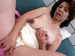 【エロ動画】五十路の艶女 平川奈美の人妻・熟女エロ画像