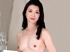 【エロ動画】美しい五十路の女 賀来恵美子の人妻・熟女エロ画像