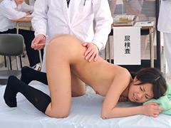 【エロ動画】羞恥 新入生発育健康診断のエロ画像