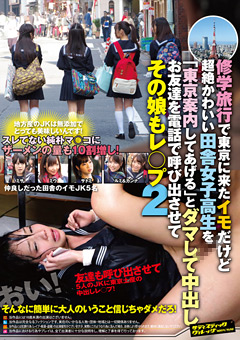 【ミサ動画】修学旅行で東京に来た田舎女子校生をダマして中出し2-レイプ