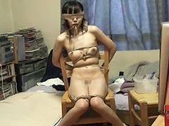 【エロ動画】家畜女子大生の飼育記録 第一章 前編 自縛のエロ画像
