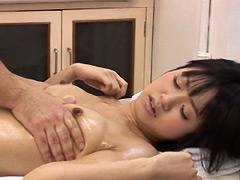 【大島優子】激似AV女優:『無料オイルエステ』の看板に釣られ、来店した素人娘