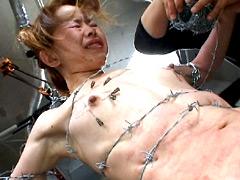 【エロ動画】PAIN GATE 〜有刺鉄線傀儡〜のSM凌辱エロ画像