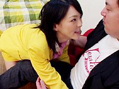 【エロ動画】極上お姉さんが制服着たまま筆おろし!!のエロ画像