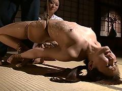 【エロ動画】緊縛折檻夫人4 桐原あずさ 川上ゆう - 極上SM動画エロス