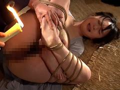 【エロ動画】女囚幻想 羽月希 - 極上SM動画エロス