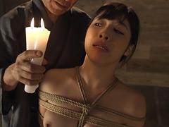 【エロ動画】緊縛折檻義娘 春原末来 - 極上SM動画エロス